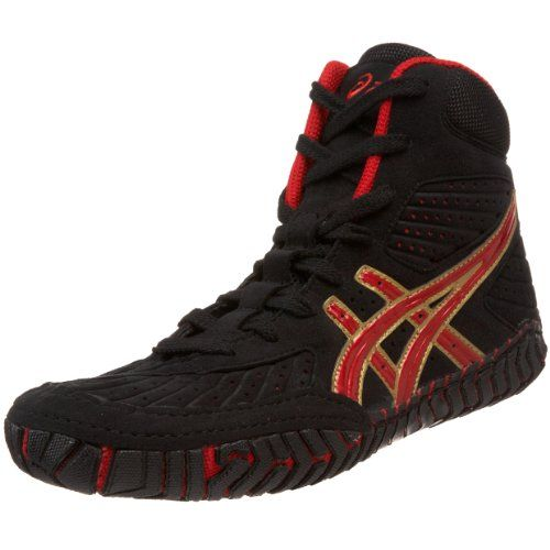 ASICS Men's Aggressor Wrestling Shoe -                     Price: $  109.95             View Available Sizes & Colors (Prices May Vary)        Buy It Now      Built on a wrestling-specific last, the ASICS® Aggressor men's wrestling shoe is designed to dominate on the mat. It features a form-fitting Escaine suede upper for a ...