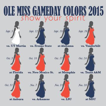 Get your Ole Miss game day attire at Archer+Arrow || www.archernarrow.com