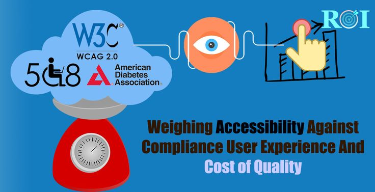 "Accessibility Testing backed by compliances such as Sec 508, ADA, WCAG 2.0 is on the rise – and it is on the rise for the right reasons – whether it be mandated by federal agencies or by the organization's drive to becoming more inclusive..."" Read the interesting blog ""Weighing accessibility against compliance user experience and cost of quality"" at http://qainfotech.com/weighing-accessibility-against-compliance-user-experience-and-cost-of-quality/"