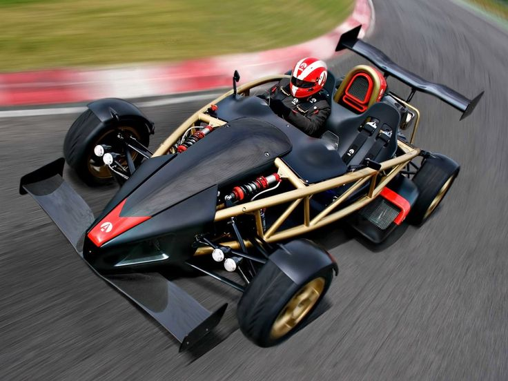 2000 ARIEL ATOM. With no doors, or roof, or anything but a powerful motor and some scaffolding, really, the British made Ariel Atom is basically a road-legal racing kart. Which can accelerate from 0-100km/h in under 3 seconds.