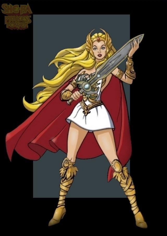 Not Cartoons she ra princess power your idea