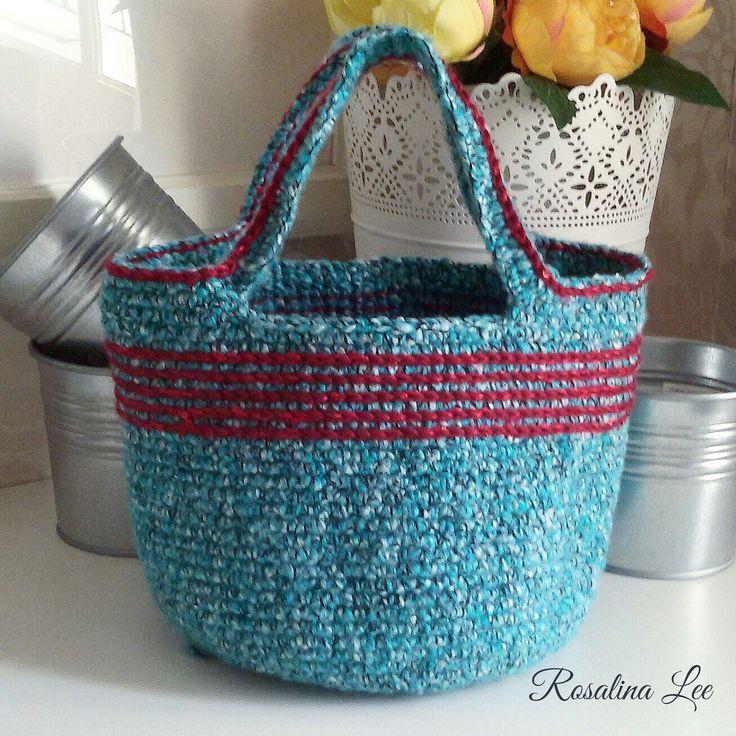 CrochetToteBag Handmade ..