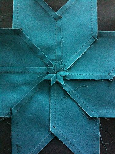 "Sentimental Stitches | Sewing ""Y"" Seams – Eight Point Star Quilt Block"