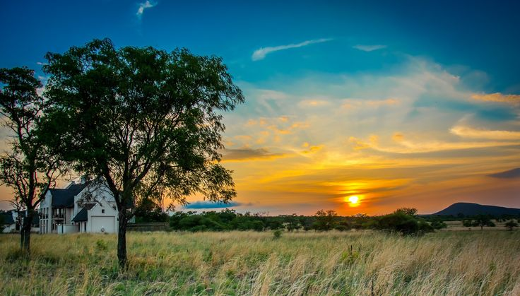 My bushveld sunrise at Zebula in Limpopo [2048 x 1168]