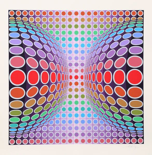 Victor Vasarely, Dyss (c1980)
