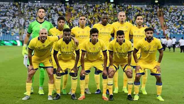مشاهدة مباراة النصر والوحدة بث مباشر اليوم 24 11 2019 في الدوري السعودي Soccer Field Football Soccer