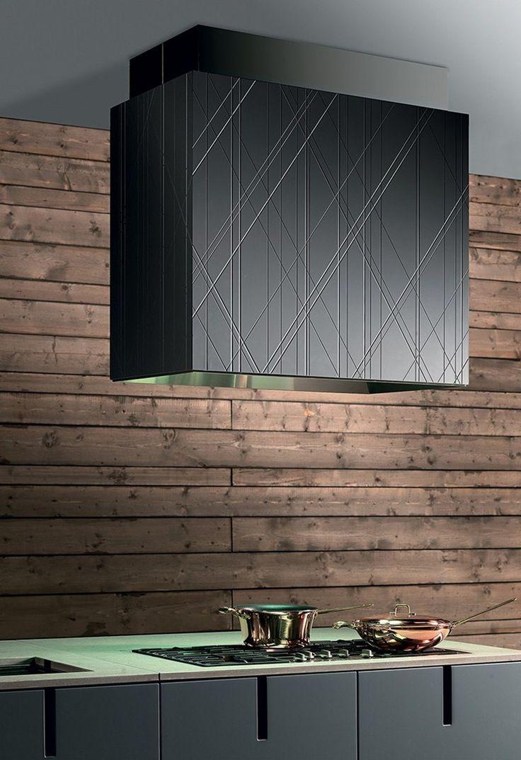 #Kitchen with integrated handles with peninsula HD23 by @rossanacucine