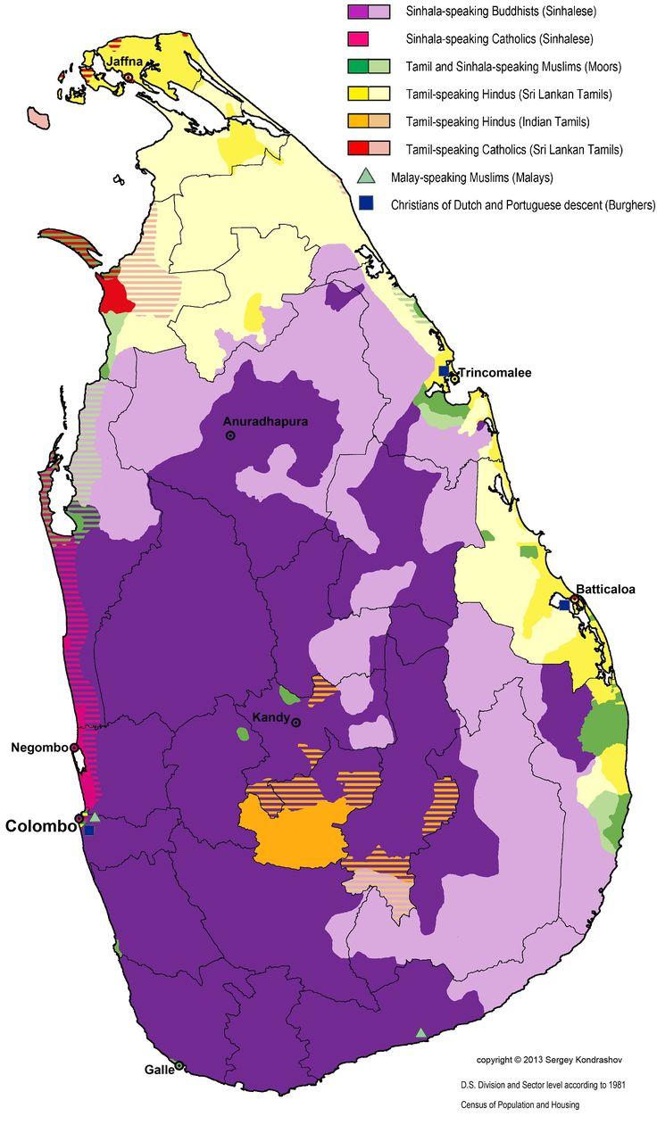 Sinhala vs tamil