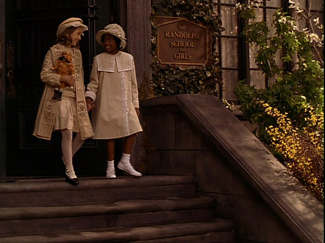 A Little Princess directed by Alfonso Cuaron, starring Liesel Matthews. Production Designer Bob Welch, Art Director Tom Duffield, Set Decorator Cheryl Carasik