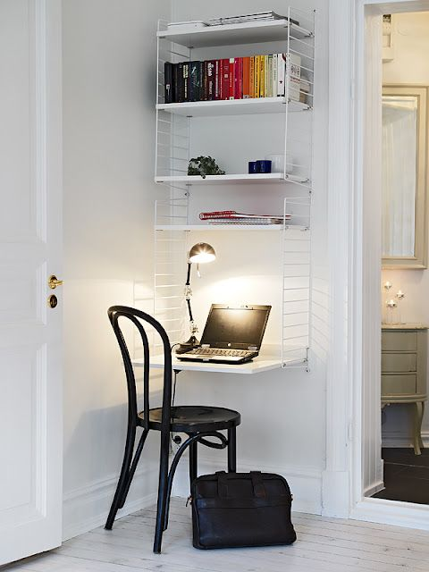 an office for a small space.