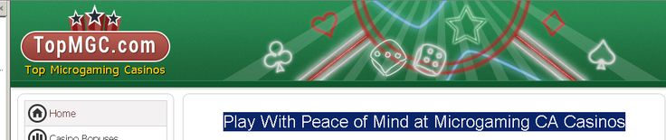 Play With Peace of Mind at Microgaming CA Casinos