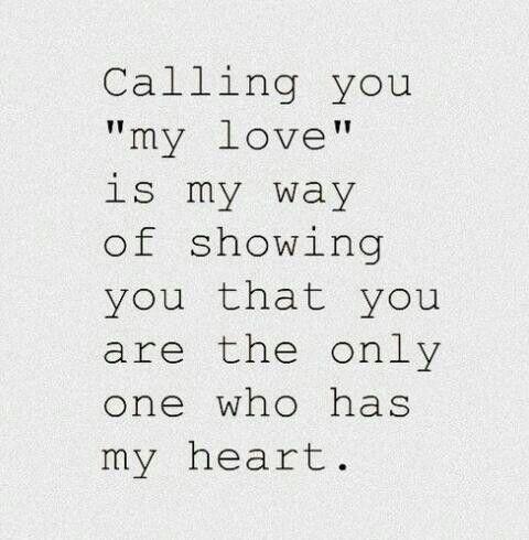 Thinking of u my love