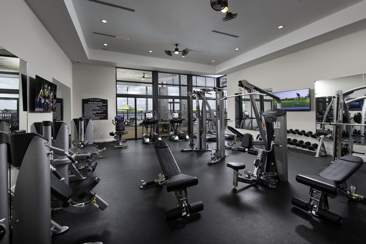 Start Your Saturday Morning Off Right With A Work Out At The Satori Clubhouse Gym Satori Miami Lakes Fl Lenna Gym Room At Home Home Gym Design Home