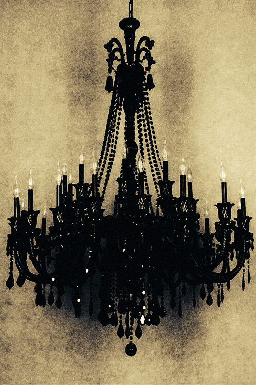 Hm, Maybe Find A Cheap Silver/gold Chandelier To Hang In