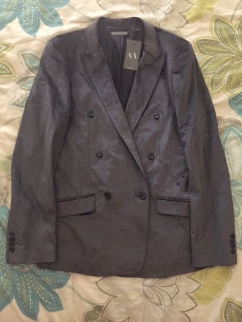 Armani Exchange A/X Charcoal Blazer Jacket Sport Coat Men's SMALL | Clothing, Shoes & Accessories, Men's Clothing, Blazers & Sport Coats | eBay!