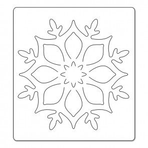 Fustella Brenda Walt.Sizzlits Bigz,Ornamento/Fiocco Di Neve
