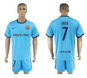 Barcelona FC 17-18 Away soccer kits 20