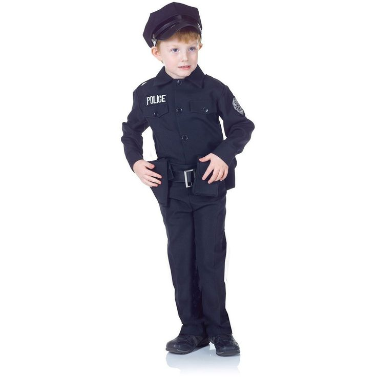 Underwraps Policeman Set Medium