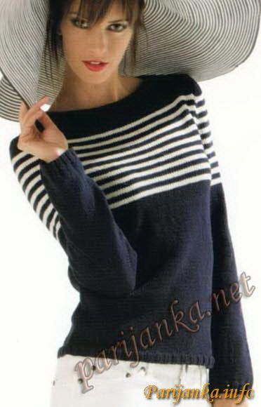Пуловер (ж) 01*14 Cheval Blanc №2642
