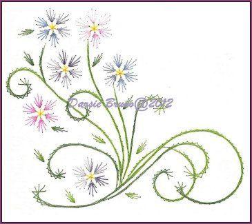Best Wild Flowers Hand Embroidery Flowers Patterns Free Wild Flowers