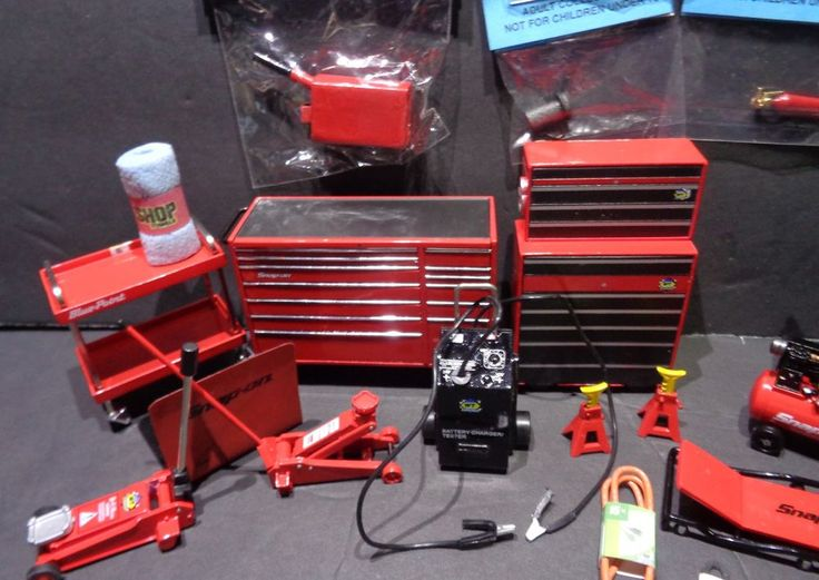 Dollhouse Miniature Auto Repair / Garage Tools Lot