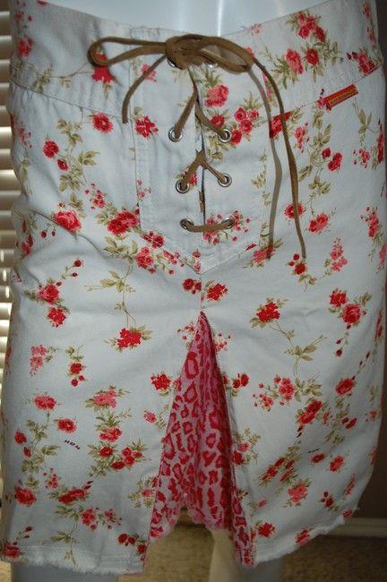 Kosiuko Jeans Modest Argentina Mini Skirt White