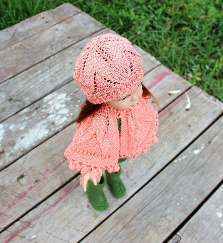 """Шапка с листьями """"Розовое утро""""//ОПИСАНИЕ - https://vk.com/wall-128709108_1881"""