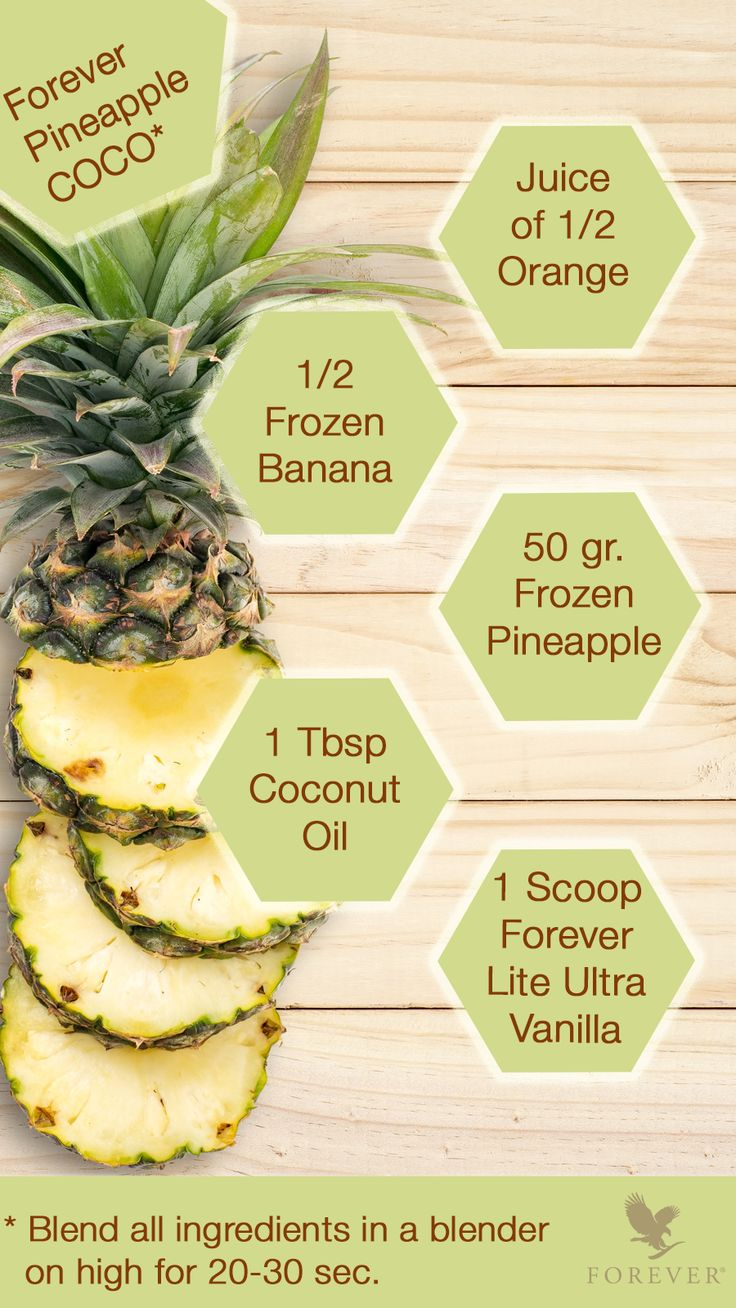 #ForeverRecipe | Get inspired to get F.I.T. with this shake recipe filled with tropical flavors!