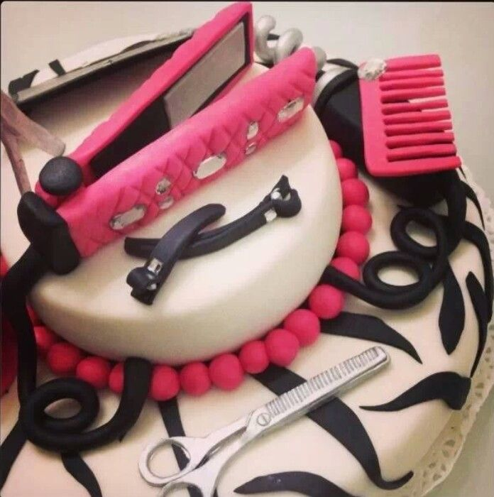 Birthday Cake For Teens And Young Love This Maybe My Hair Dresser