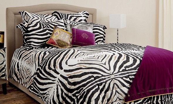 Roberto Cavalli Zebrato Bed Linen | Harrods