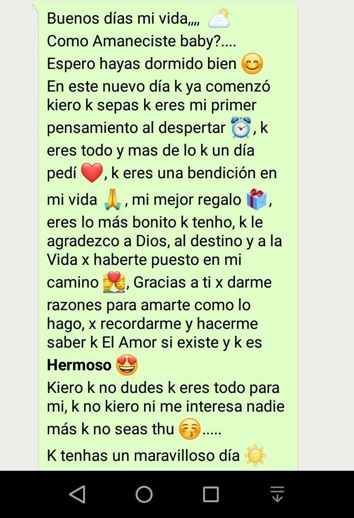 Buenos Días Amor Feelings Words Love Text Love Paragraph