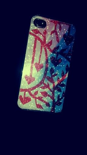 paper cutting mobile cover