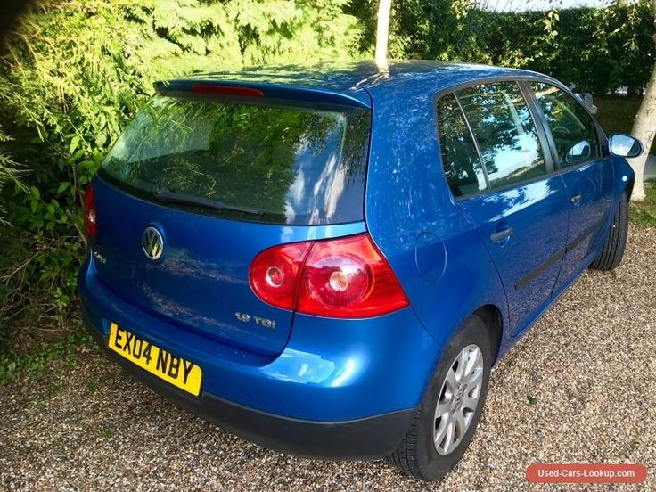 2004 VW GOLF 1.9 TDI SE ONE OWNER FROM NEW WITH FVWSH 3 DAY AUCTION  #vwvolkswagen #golf #forsale #unitedkingdom