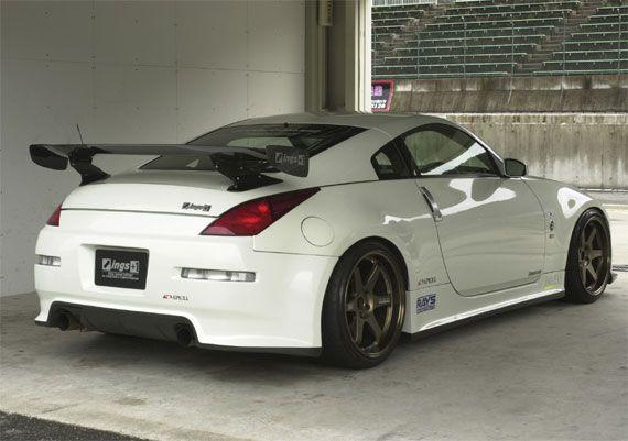 Ings NSpec Full Body Kit for Nissan 350Z (Z33) Rear 車