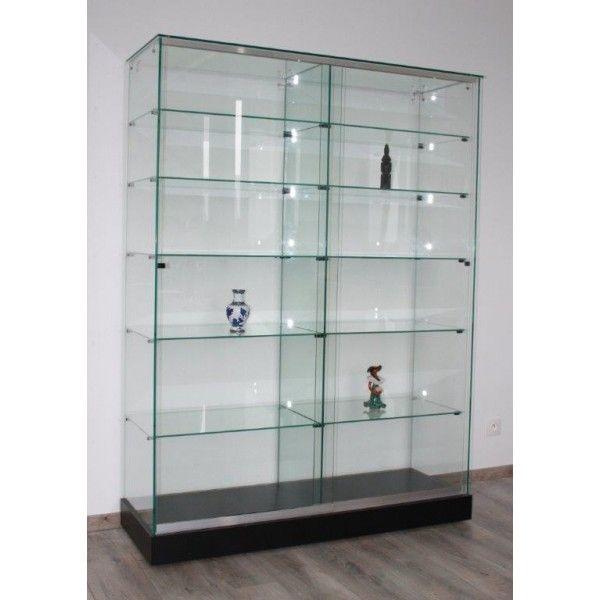 29 best vitrine en verre images on pinterest glass display cabinets glass showcase and brass. Black Bedroom Furniture Sets. Home Design Ideas
