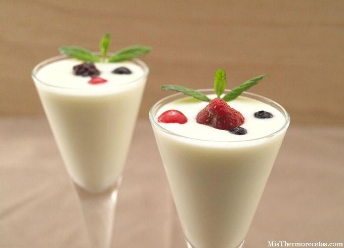 Chupitos o copas de chocolate blanco - MisThermorecetas.com