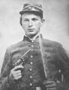 Confederate soldier, John R. Langston, son of Cherry Lee and Thomas Barnes Langston, died Feb. 1862.: