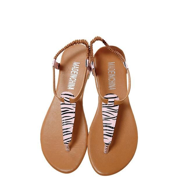 994335b43 Shop Women Fashion Summer Flat Flip Flops Sandals Leopard Bohemia Shoes  https   www