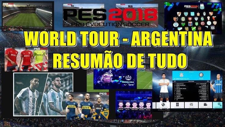 PES WORLD TOUR ARGENTINA - RESUMÃO MONSTRO QUE VC RESPEITA *CAMPEONATO ARGENTINO *BOCA/RIVER/INDEPEDIENTE COMO PARCEIROS *ESTADIO MONUMENTAL/LA BOMBONERA *TATOO DO MESSI *FACES *MARCELO SALAS COMO LEGEND *TIMES DA DEMO *ESTADIOS DA DEMO E MUITO MAIS CONFERE AIIIIII  https://www.youtube.com/watch?v=4yI91R9dx18