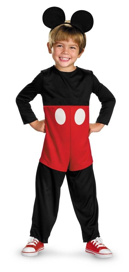 Mickey Mouse Basic Toddler Costume 3-4T