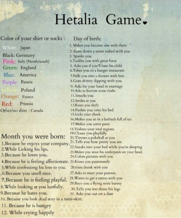 Canada runs down a street naked with me because I look dead sexy in a mini skirt.
