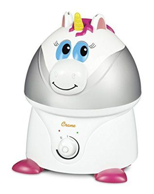 Crane Ultrasonic Adorable Cool Mist Humidifier Unicorn
