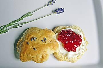 Lavendel-Scones von stachelbeere bei chefkoch.de