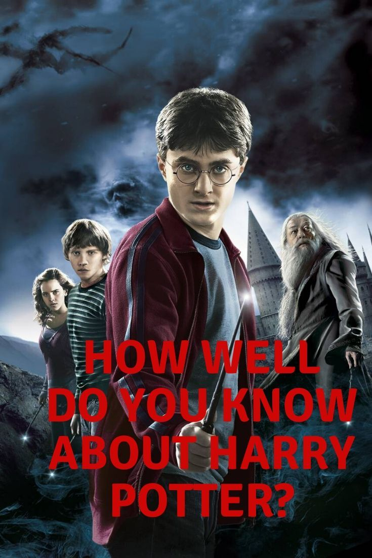 How Well Do You Know About Harry Potter In 2020 Harry Potter Personality Quiz Did You Know