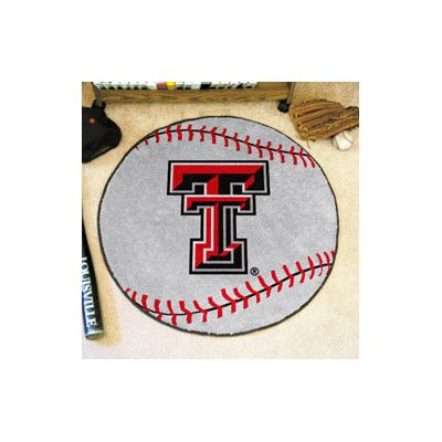 FANMATS NCAA Texas Tech University Baseball Mat