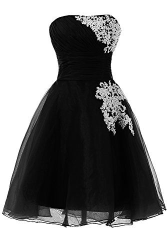 Sunvary Organza and Lace Sweety 16 Pageant Cocktail Foraml Dresses Short Homecoming Cocktail Dresses Bridesmaid Dress Prom Gowns for Evening US Size 22W- Black Sunvary http://www.amazon.com/dp/B00M3RDK0U/ref=cm_sw_r_pi_dp_xyapub1FDNJV2