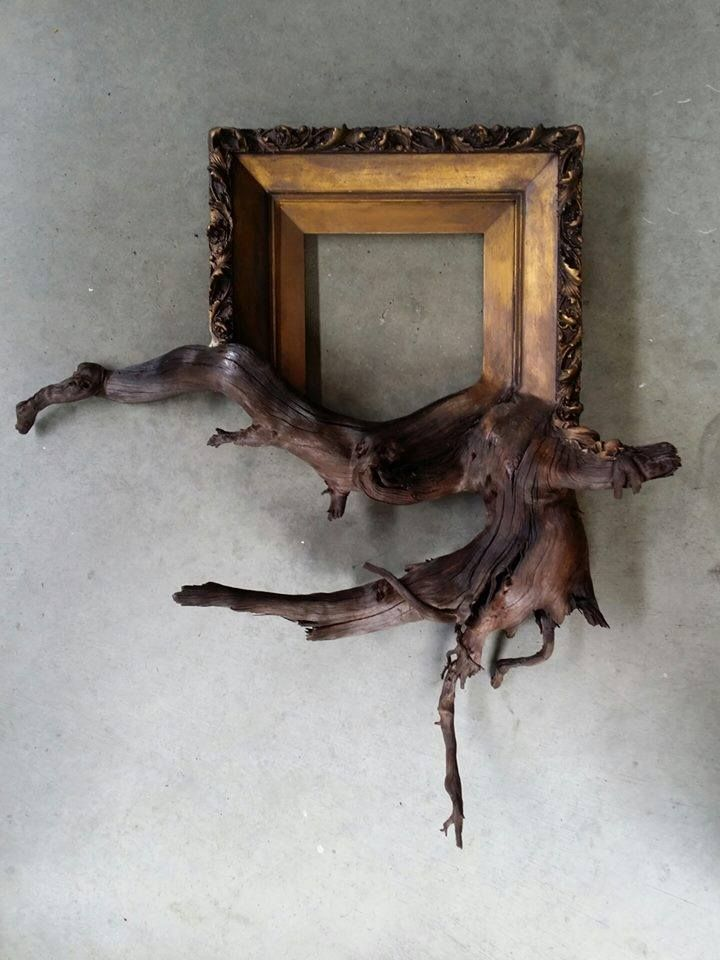 Fusion Frames - Album on Imgur - What a cool way to showcase unique pieces of wood!