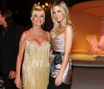 Gallery For > Ivanka Trump Mother