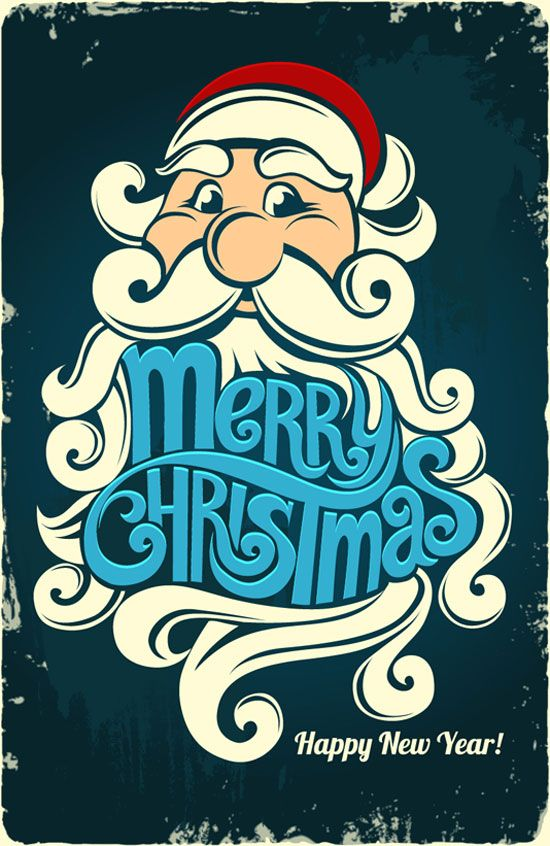 Beautiful-typography-merry-christmas-happy-new-year-2013-card-01.jpg 550×846 pixels
