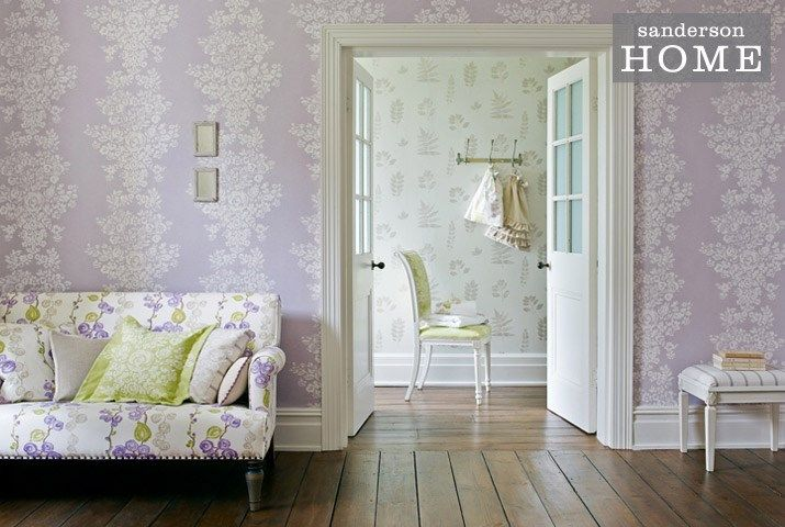 Madison Fabric Collection (source Sanderson) Fabric Wallpaper Australia / The Ivory Tower